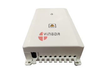 Cina Kotak Distribusi Serat Optik FTTH Indoor Putih Mini Compact 8 Cores SC Adapter pabrik