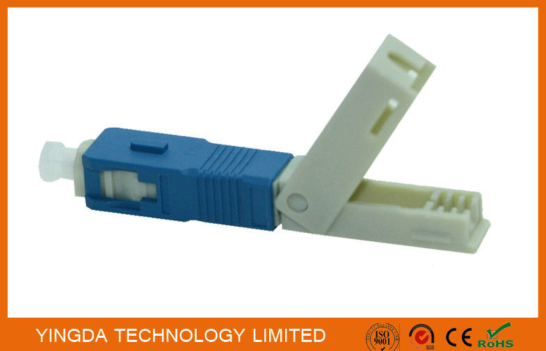 FTTH Field Mechanical Connector SC / UPC SM SX SC Fast Fiber Optic Connectors pemasok