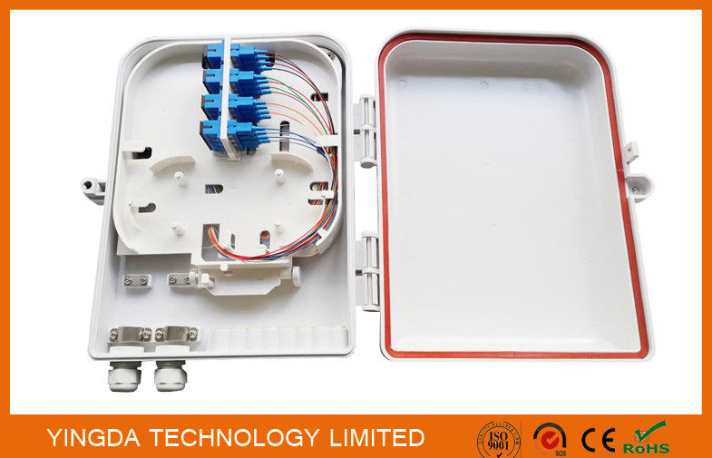 IP65 Waterproof Fiber Optic Splice Box for FTTH PLC Splitter and SC Connectors Pole Mounted pemasok