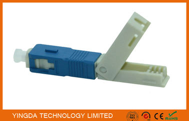 Cina FTTH Field Mechanical Connector SC / UPC SM SX SC Fast Fiber Optic Connectors Distributor